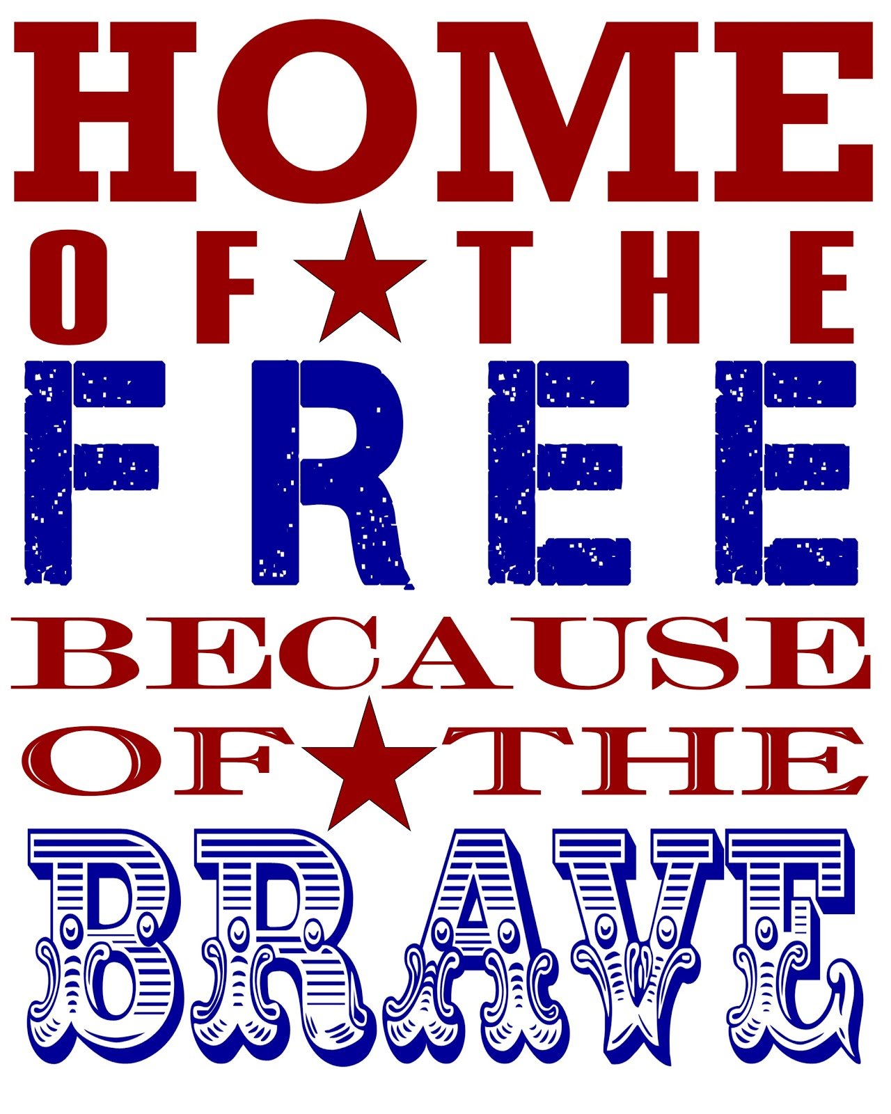 Happy 4th of July God Bless Our Troops