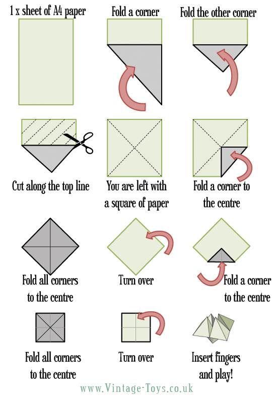 5 Best Images of Printable Paper Toys And Games ...
