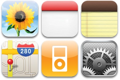 7 Images of Printable IPhone Icons