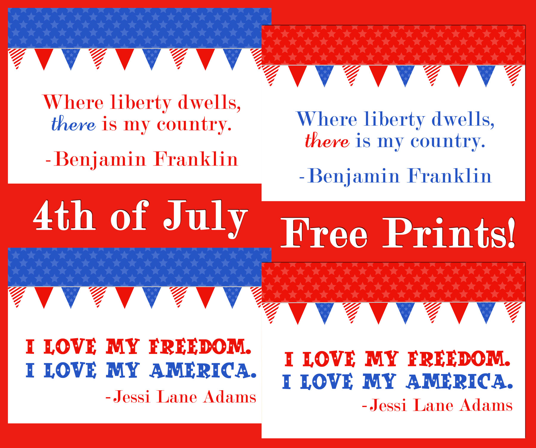 July 4th Printables