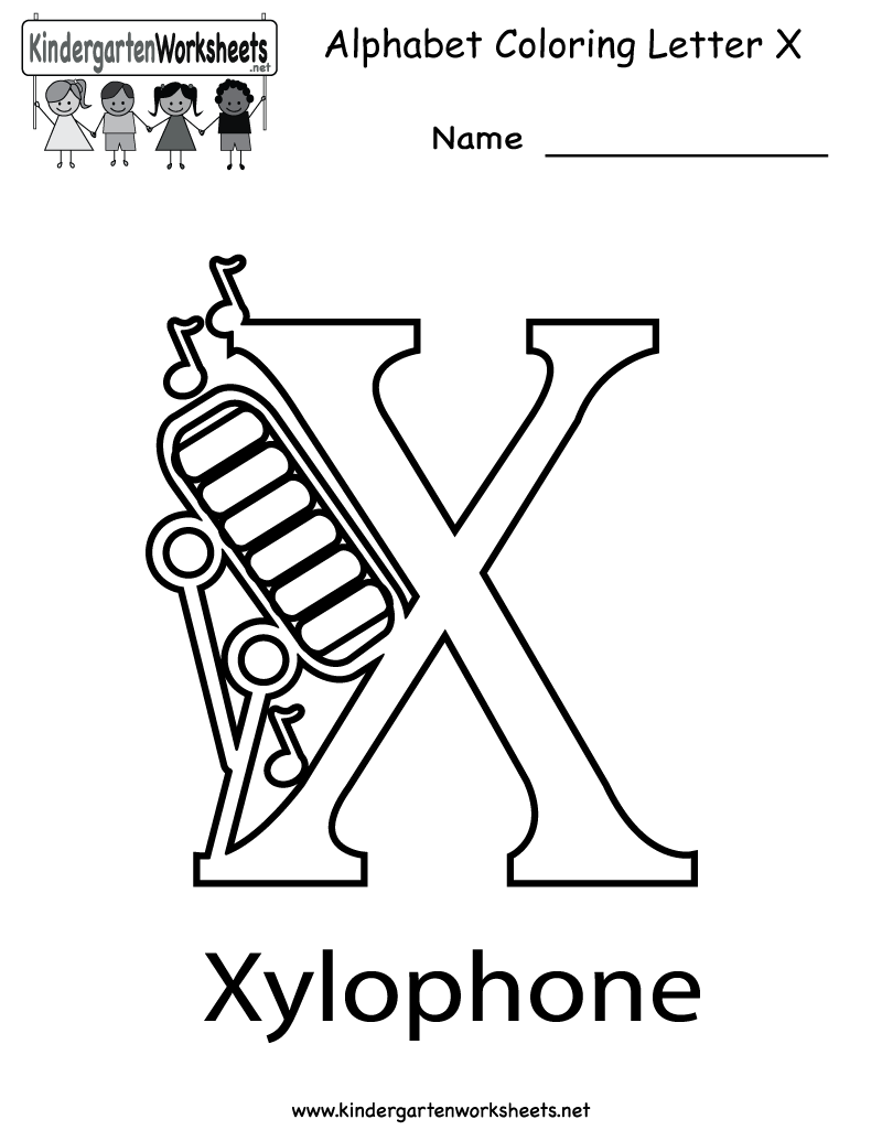 6 Best Images Of Printable Letter X Activities