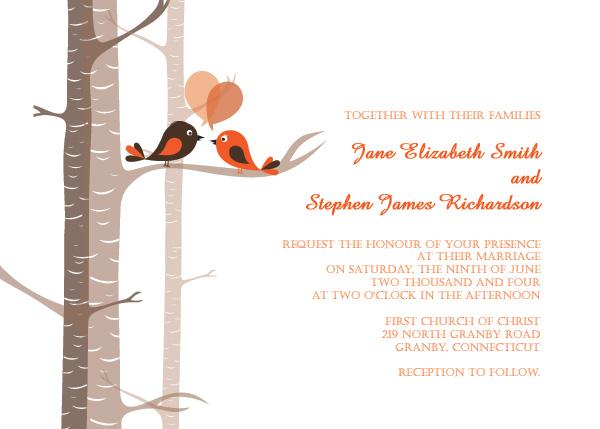 6 Images of Wedding Love Bird Template Printable
