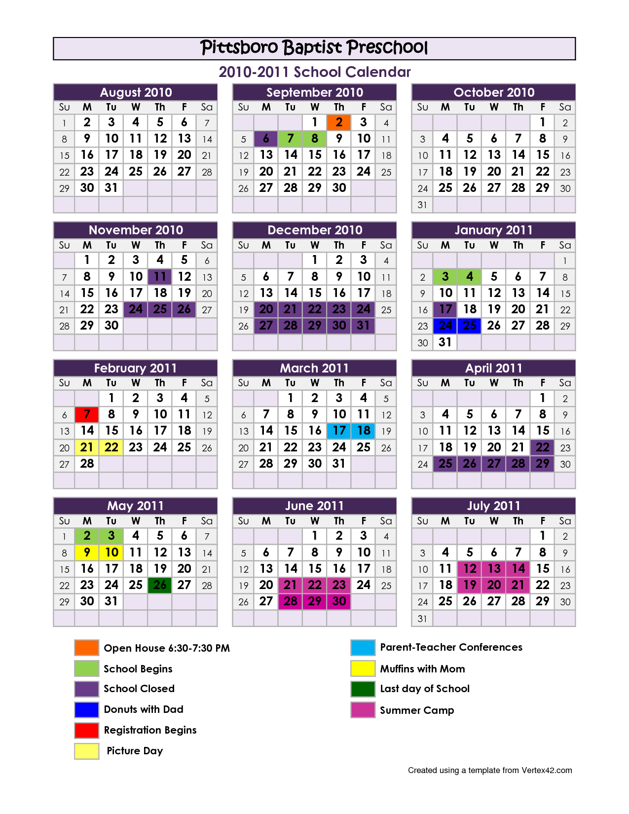 Calendar Printables For Preschool : Best images of preschool calendar template printables