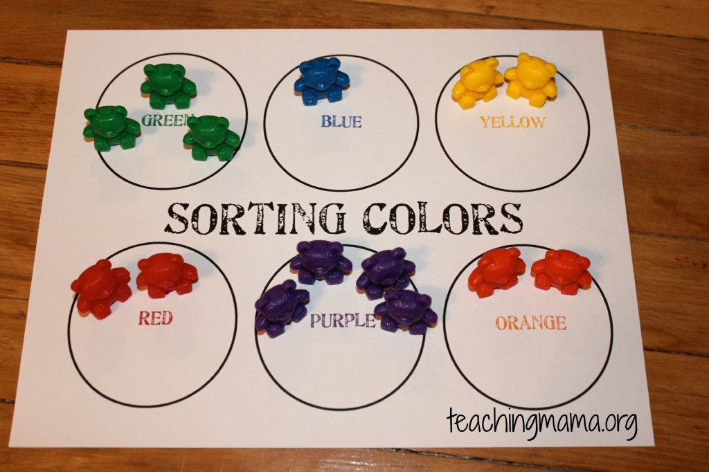 7 Best Images Of Sorting Activities For Preschoolers