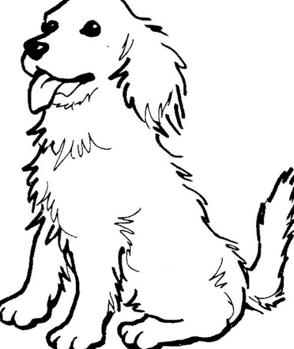 4 Images of Free Printable Dog Coloring Pages