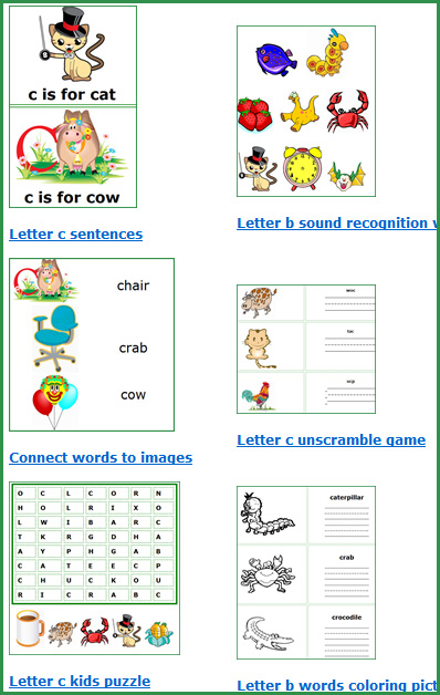 Free Printable Worksheet For Kindergarten English - Templates and ...