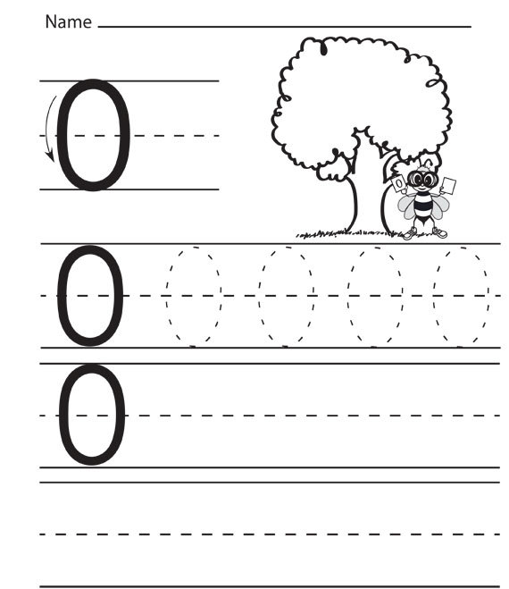 Number 0 Worksheets – Pre K Number Worksheets