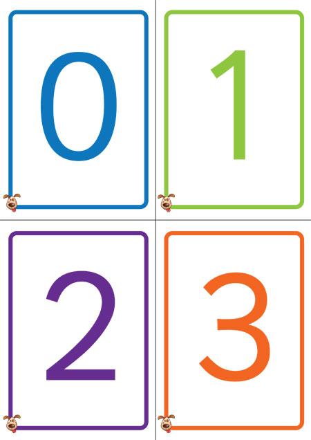 Number Names Worksheets printable numbers 1 to 10 : 6 Best Images of Printable Number Cards To 10 - Printable Number ...