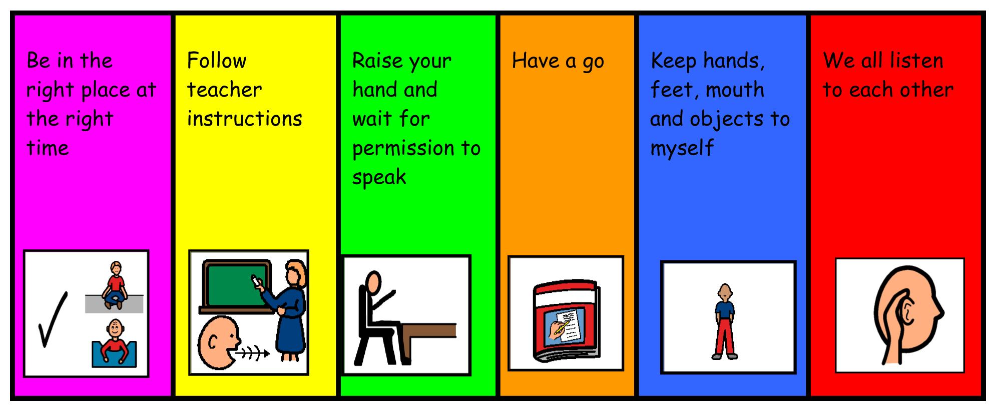 Best Images of School Rules Printable - Printable School Rules ...