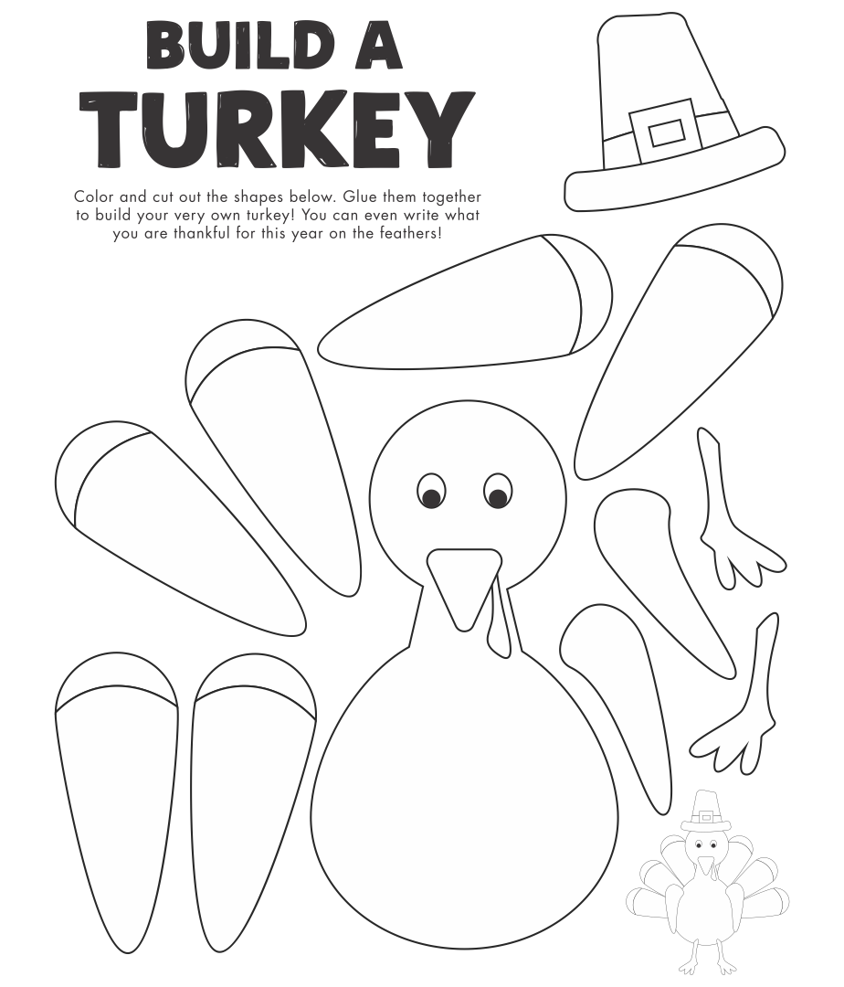 Printable Thanksgiving Arts and Crafts
