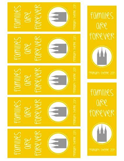 4 Images of Printable Bookmarks LDS