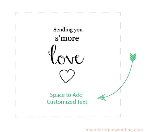 Free Printable Wedding Gift Tag Templates : ... Tags, Printable Smore Tags and Wedding Smore Love Tags Printable Free
