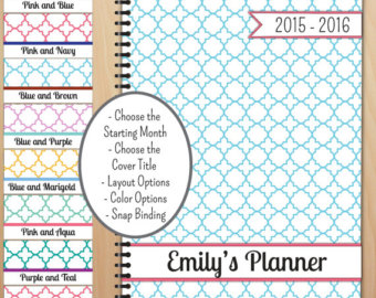 Student Planners 2015 2016
