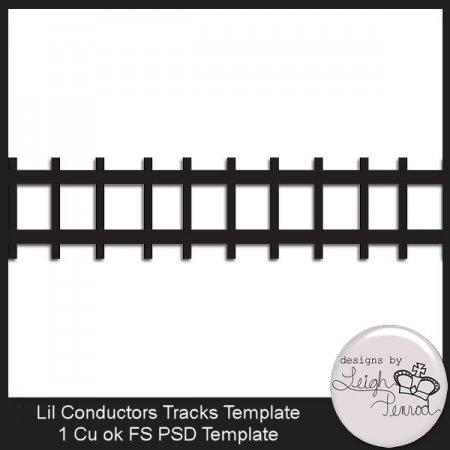4 Images of Train Track Printable Templates