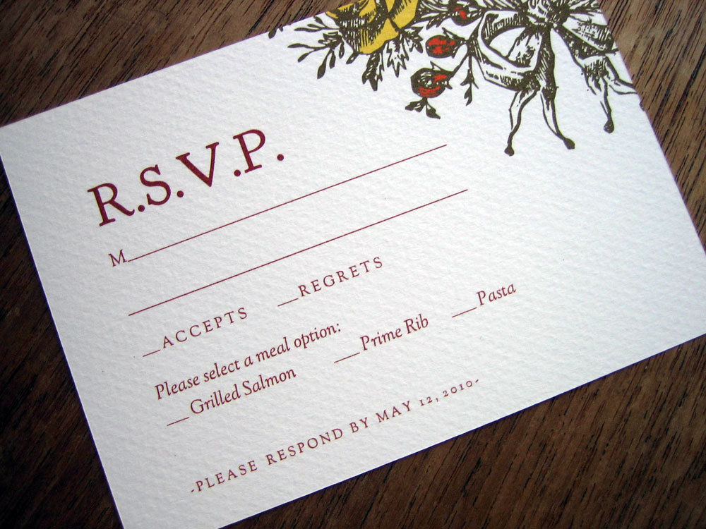 Doc.#400400: Free Rsvp Card Template – 1000 images about DIY ...