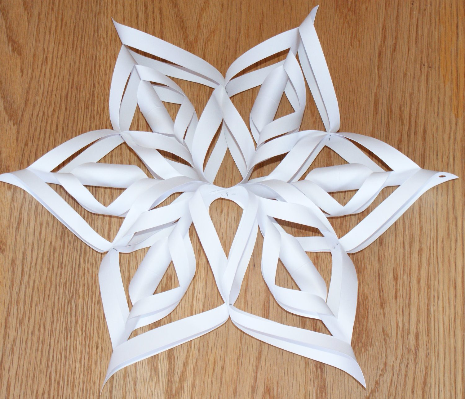 5 Images of 3D Printable Snowflake Template