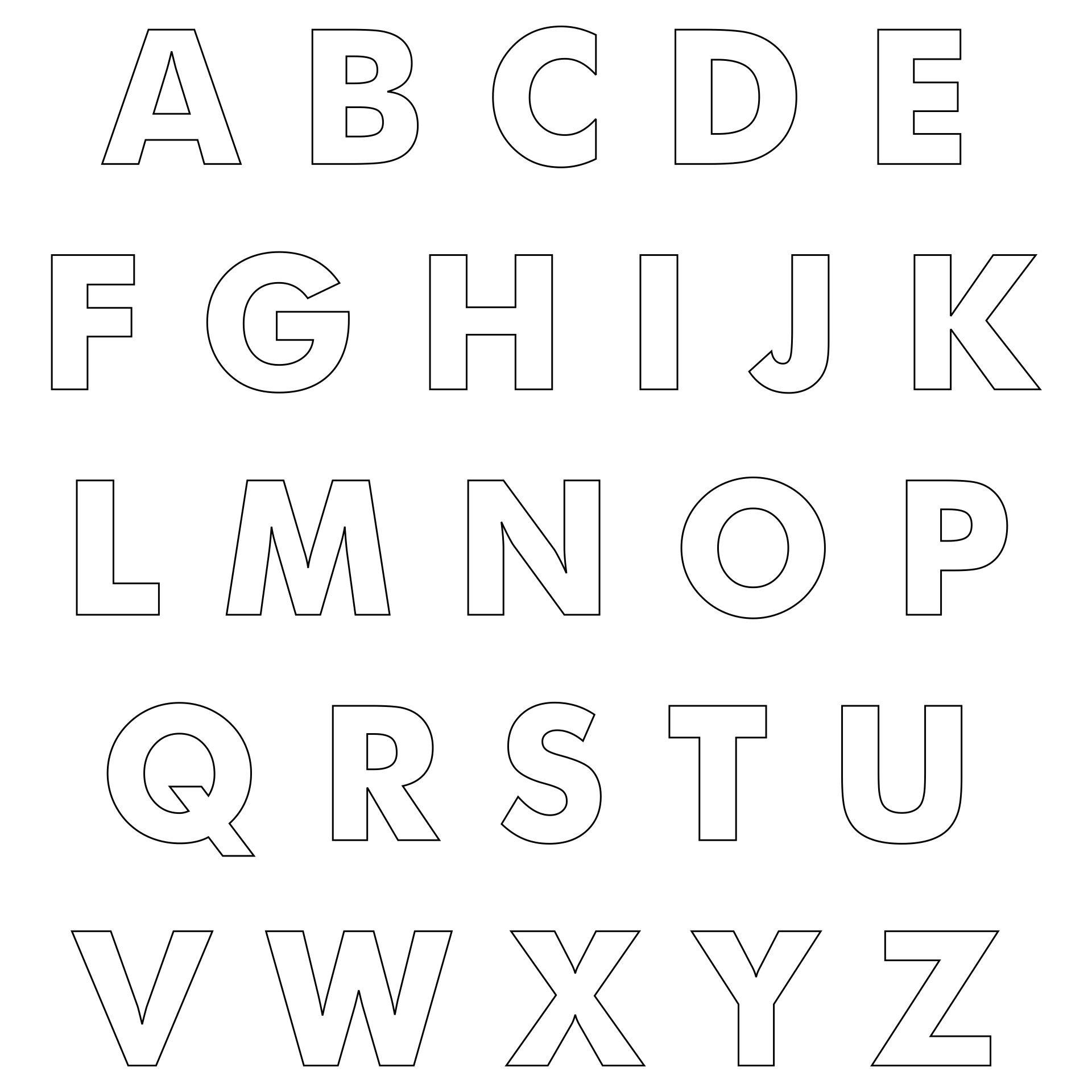 4 inch free stencil patterns, six inch number stencils free printable, small alphabet stencils free printable, on 4 inch free printable alphabet stencil letters template