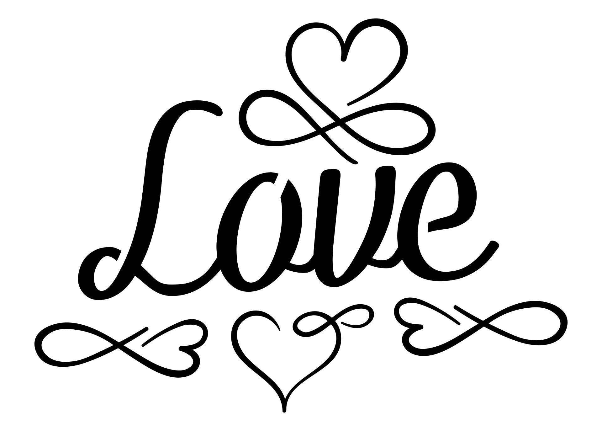 Airbrush Stencils Templates Love