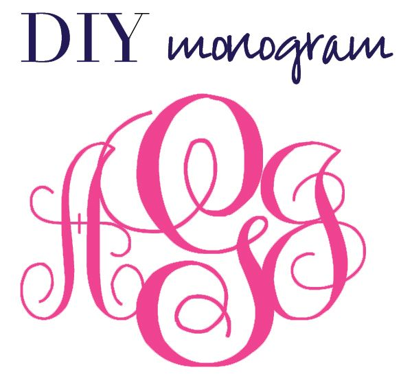 4 best images of free printable monogram font downloads