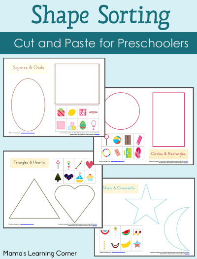 7 Images of Shape Sorting Worksheets Printable
