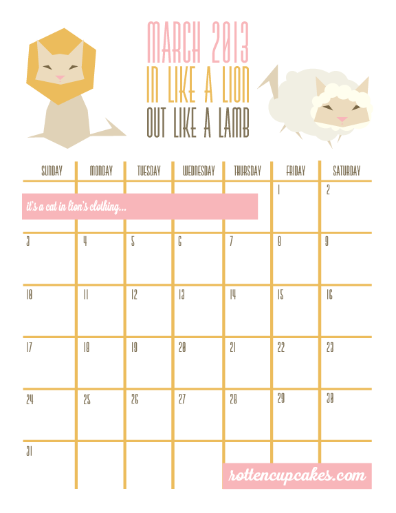 5 Images of Cute Cupcakes Free Printable November 2015 Calendar