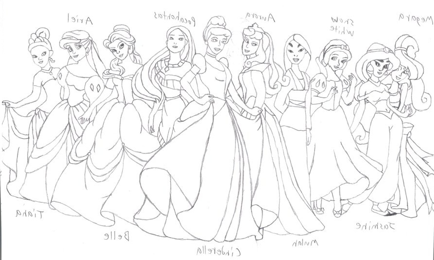 free printable princess belle coloring pages book for me - Baby Princess Belle Coloring Pages