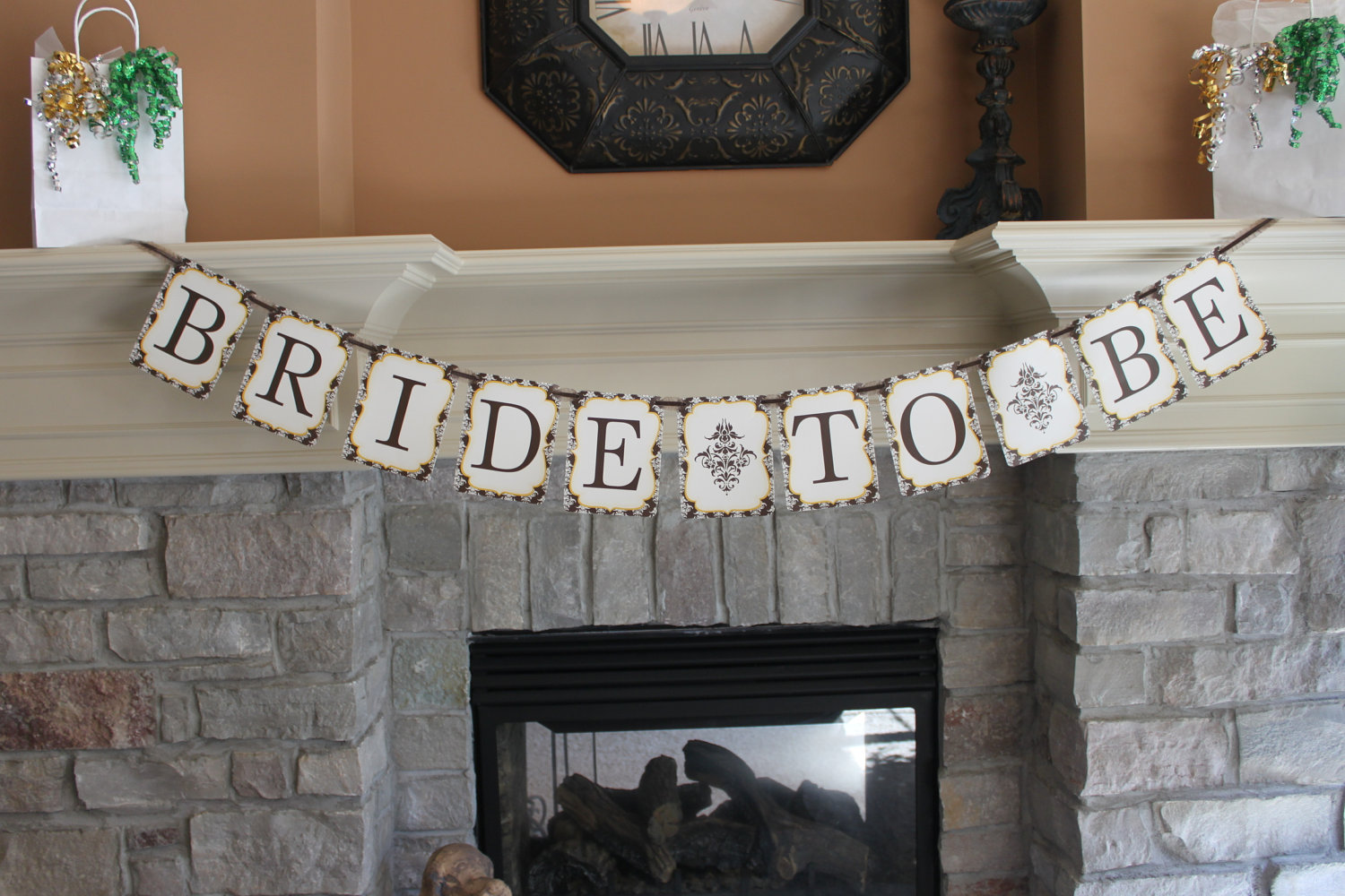 6 Images of Printable Bridal Shower Banner
