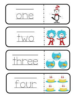 8 Images of Preschool Printables Dr. Seuss