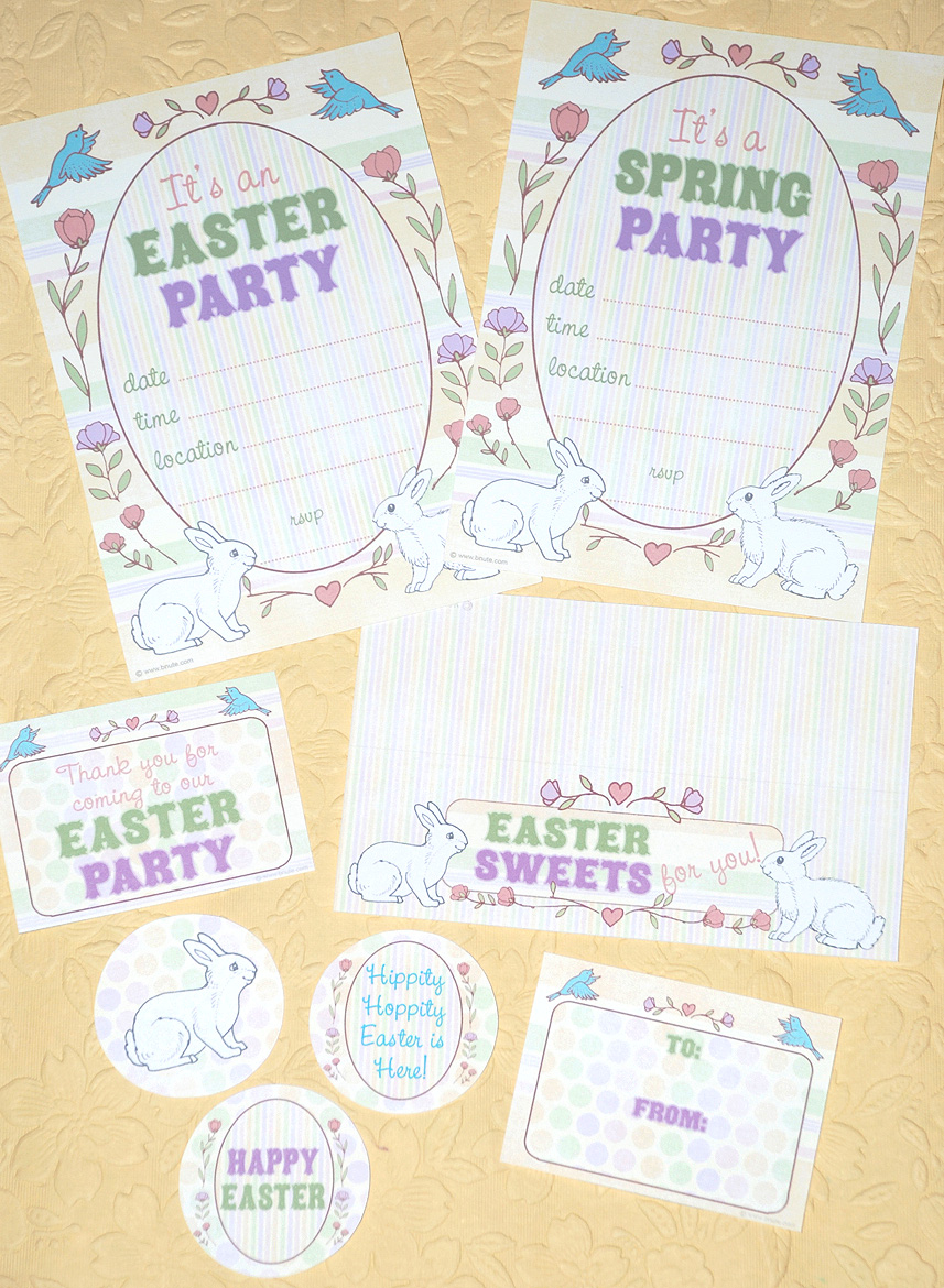 5 Images of Free Easter Printables Spring