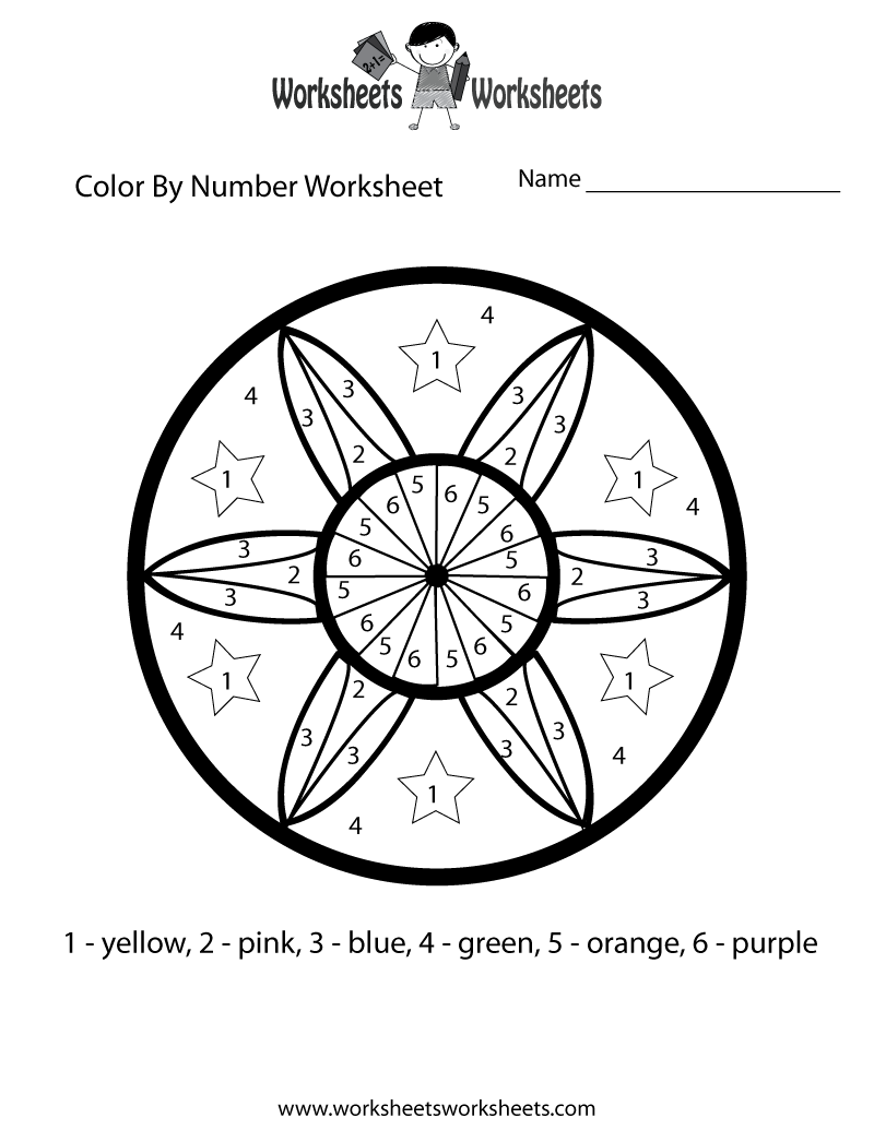 6 Best Images of Printable Math Worksheets Color By Numbers Math – Best Math Worksheets