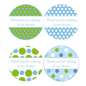 7 Images of Blue Thank You For Coming Tags Printable
