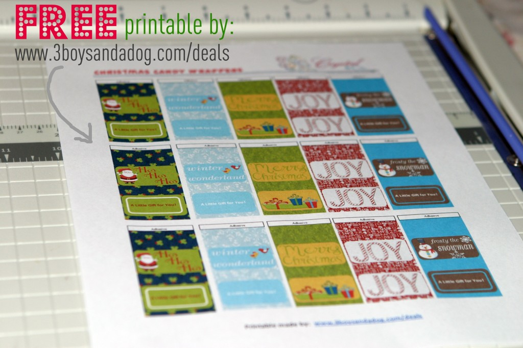 7 Images of Making Candy Wrappers Free Printable