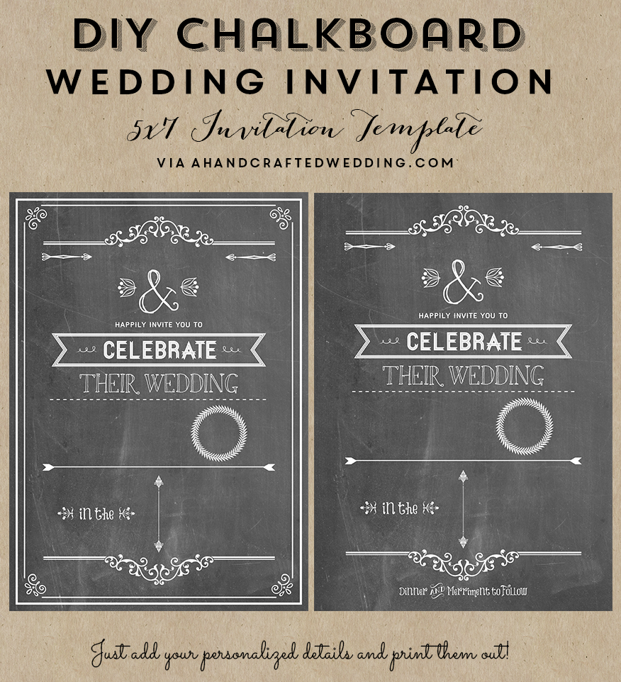 Chalkboard Wedding Invitations 020 - Chalkboard Wedding Invitations