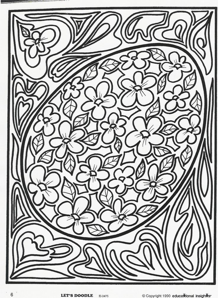 - 8 Best Images Of Free Printable Doodle Art Coloring Pages - Printable Doodle  Coloring Pages, Let's Doodle Coloring Pages And Heart Doodle Art Coloring  Pages / Printablee.com