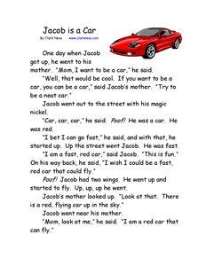 7 Images of Free Printable Kindergarten Stories