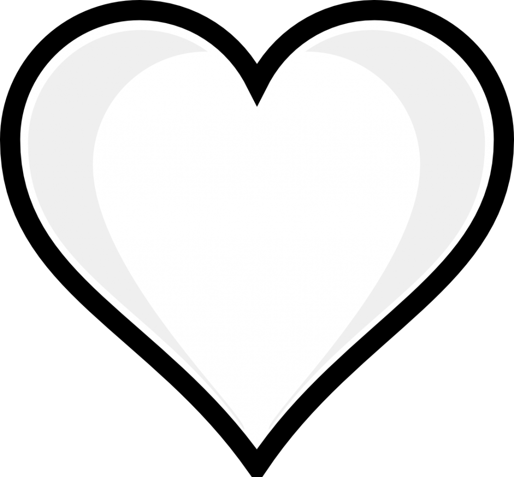 6 Images of Heart Coloring Pages Printable