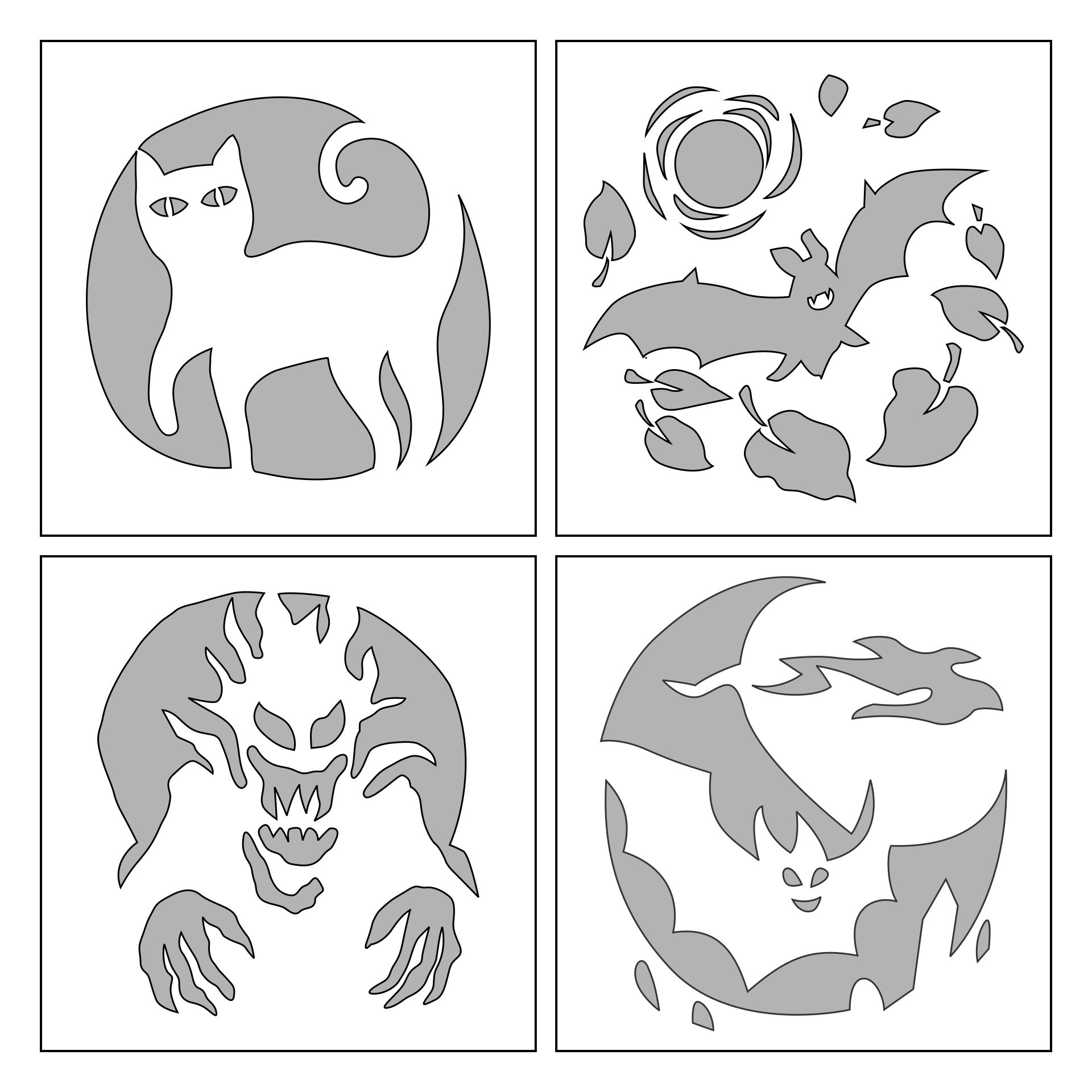 7 Images of Free Printable Halloween Pumpkin Stencils