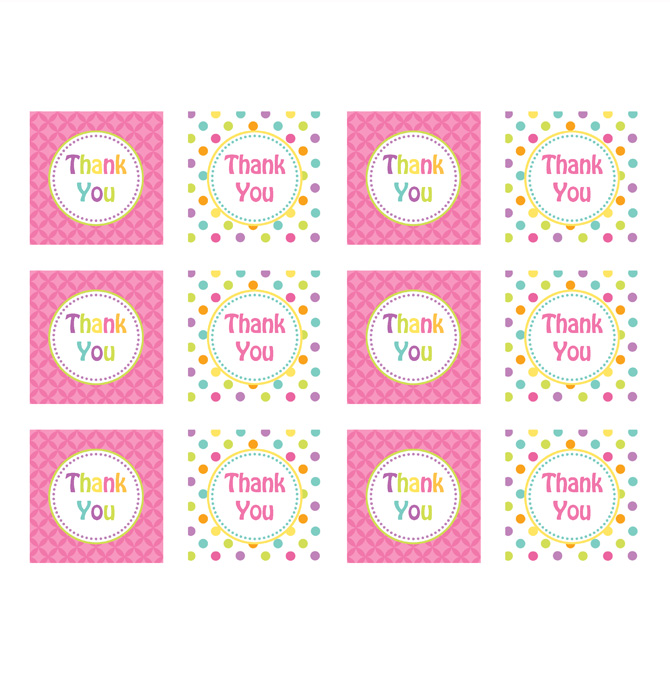 7 best images of blue thank you for coming tags printable free printable baby shower thank you for Free printable baby shower thank you tags