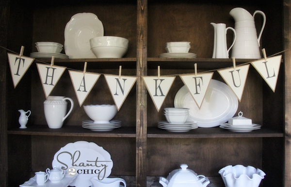 9 Images of Printable Banner Shanty Chic