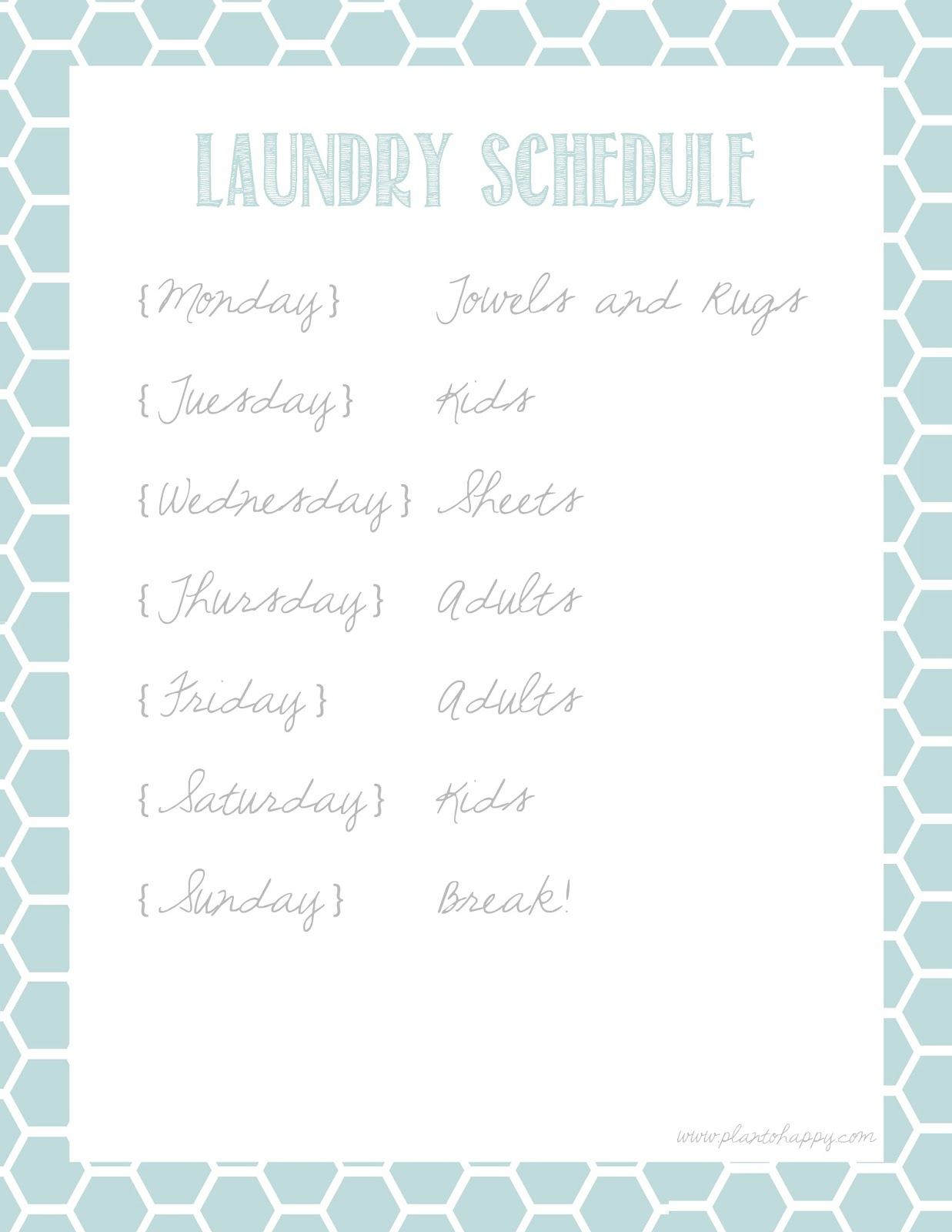 5 best images of laundry schedule printable printable laundry schedule template free. Black Bedroom Furniture Sets. Home Design Ideas