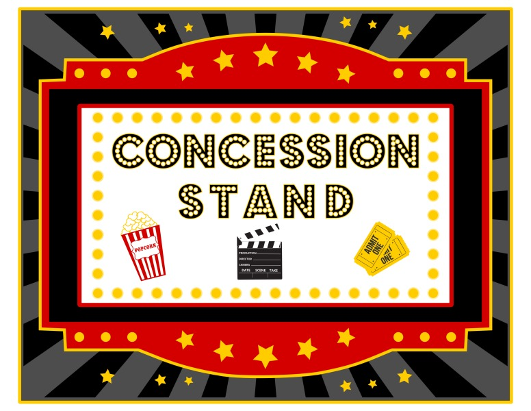 5 Images of Printable Concession Sign