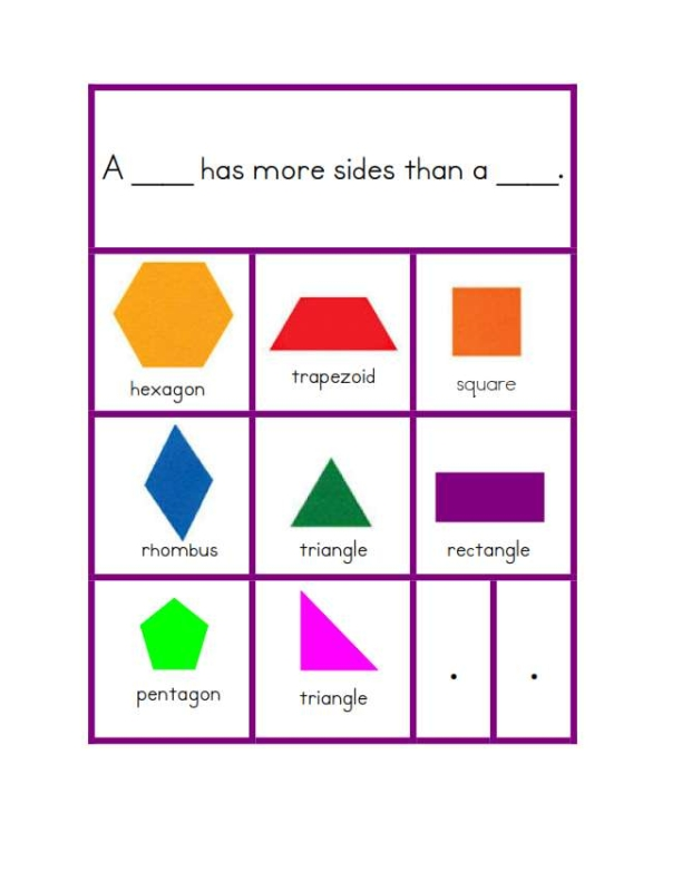 composing shapes kindergarten worksheets tracing shape preschool free printable worksheets. Black Bedroom Furniture Sets. Home Design Ideas