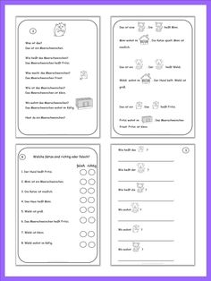 4 Images of German Nouns Printables For Beginners
