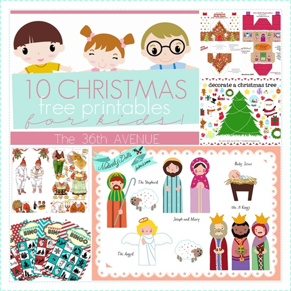 Kids Christmas Printables Free