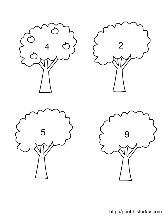 Number Names Worksheets preschool math worksheet : Preschool Math Worksheets Printables - Intrepidpath