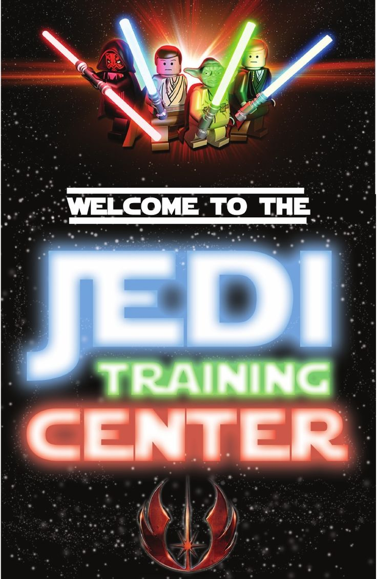 4 Images of Star Wars LEGO Birthday Party Printables
