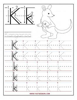 5 Images of Preschool-K Printable Worksheets
