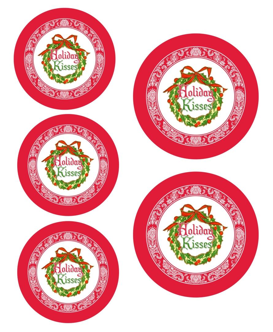 Mason Jar Christmas Labels Printable