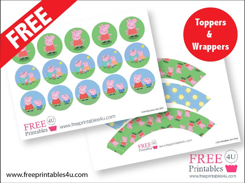 Images of Peppa Pig Party Free Printables - Free Printable Peppa Pig ...