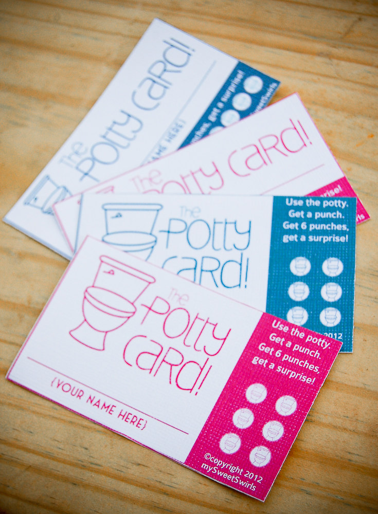 8 Images of DIY Printable Punch Cards